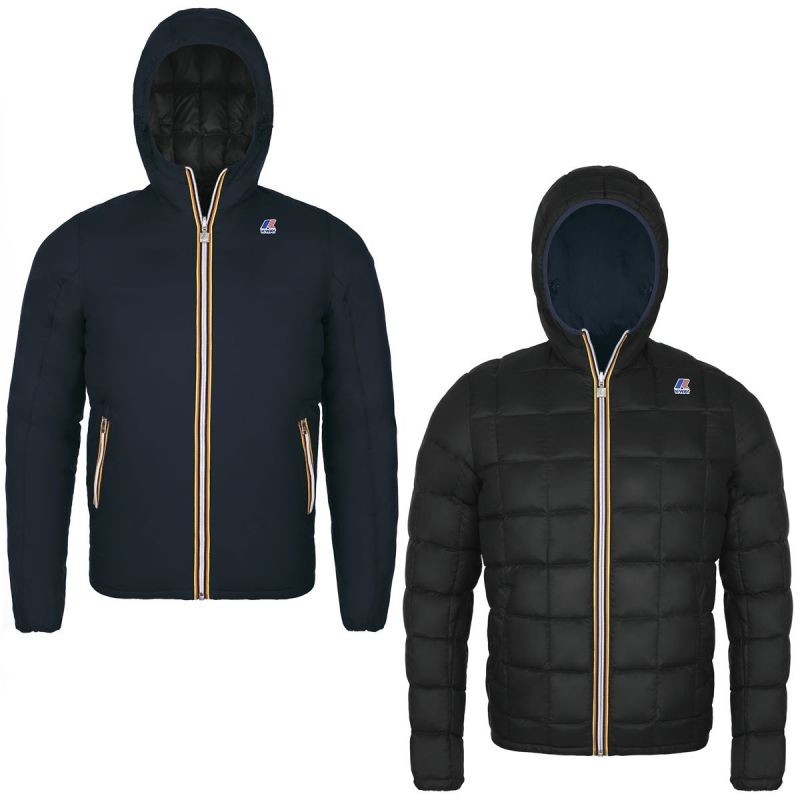 outlet store 543cf 1cdc4 KWAY Giacca Piuma Uomo Jacques