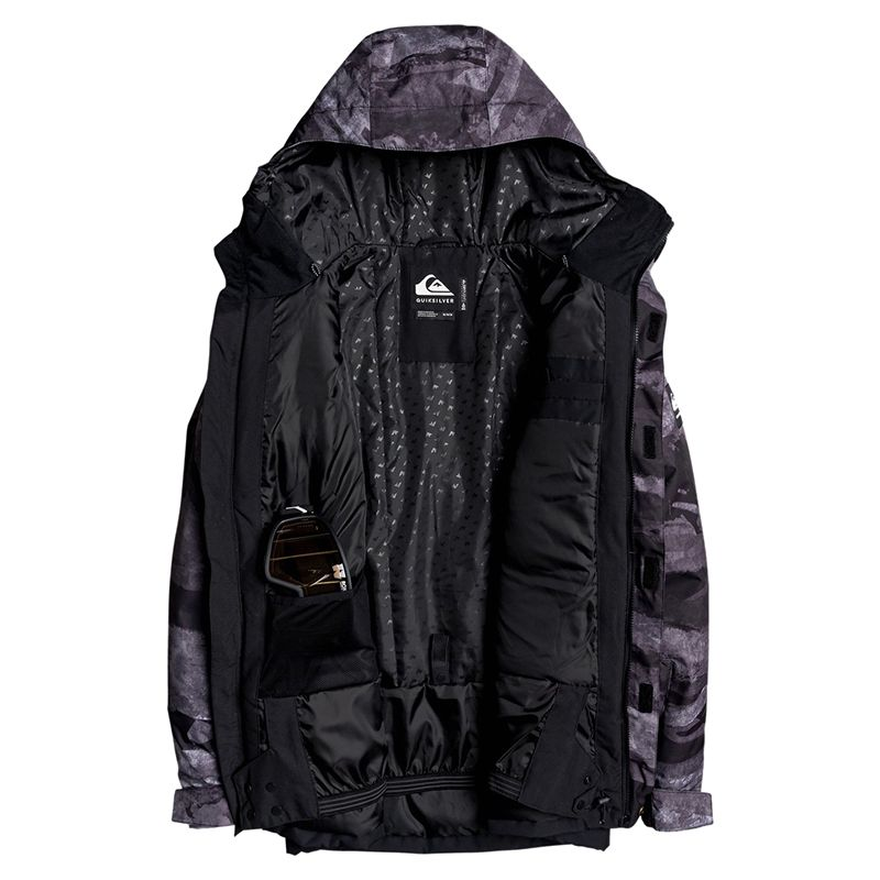 QUIKSILVER GIACCA UOMO MISSION PRINTED BLOCK | DF Sport Specialist