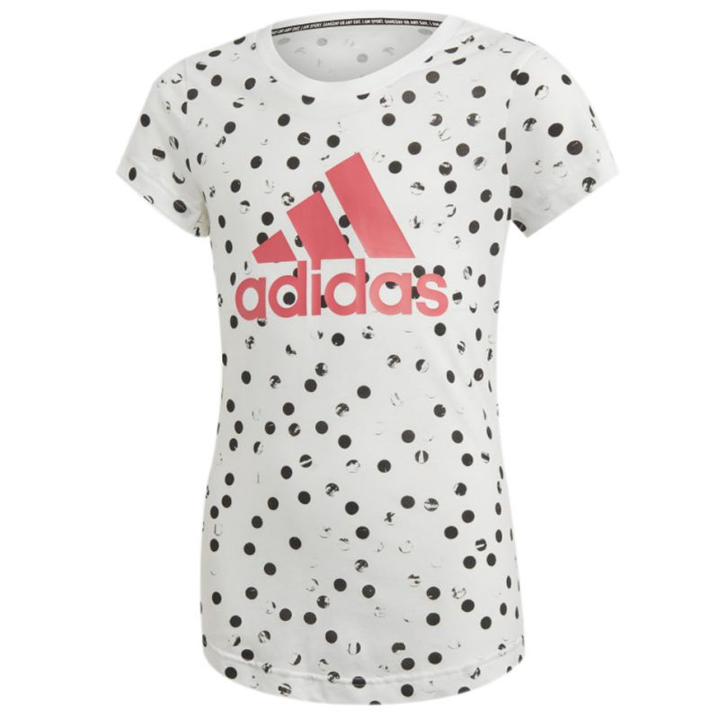 ADIDAS T Shirt Girl Mc Graphic Athletic Q4
