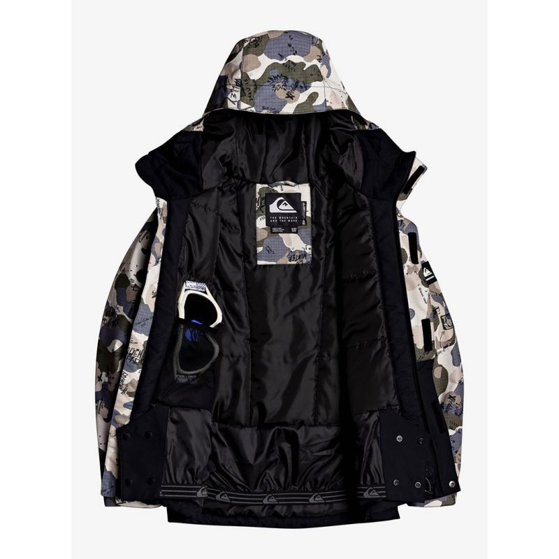 QUIKSILVER GIACCA SNOW BAMBINO MISSION BLOCK YOUTH | DF Sport Specialist
