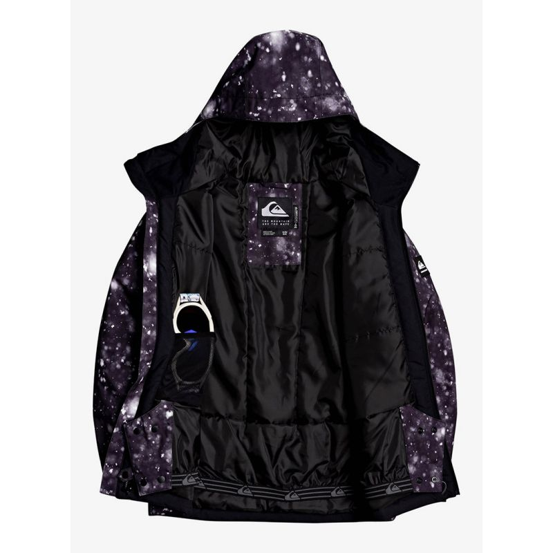 QUIKSILVER GIACCA SNOW BAMBINO MISSION PRINTED YOUTH | DF Sport Specialist